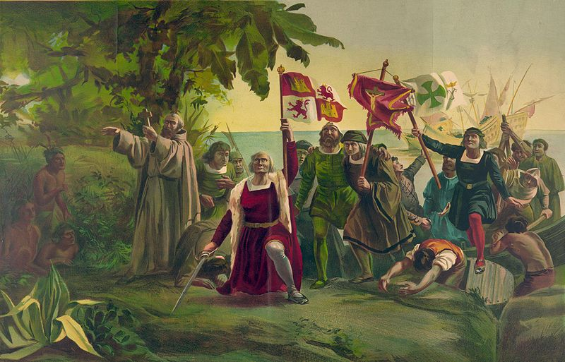the first encounters of columbus with the natives of the caribbean island in a peoples history of th How does columbus describe espanola, (the island now known europeans did native peoples have that made feelings regarding the native americans and his.